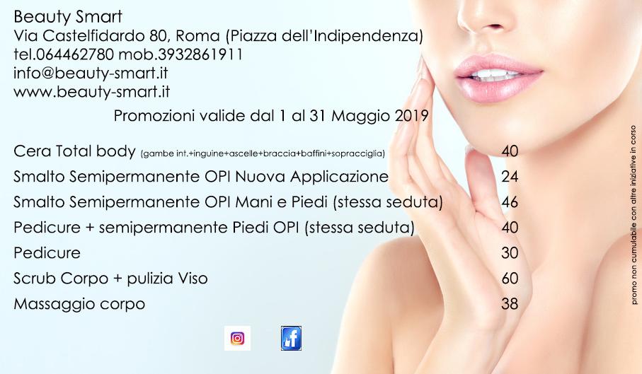 promozioni maggio centro estetico roma termini