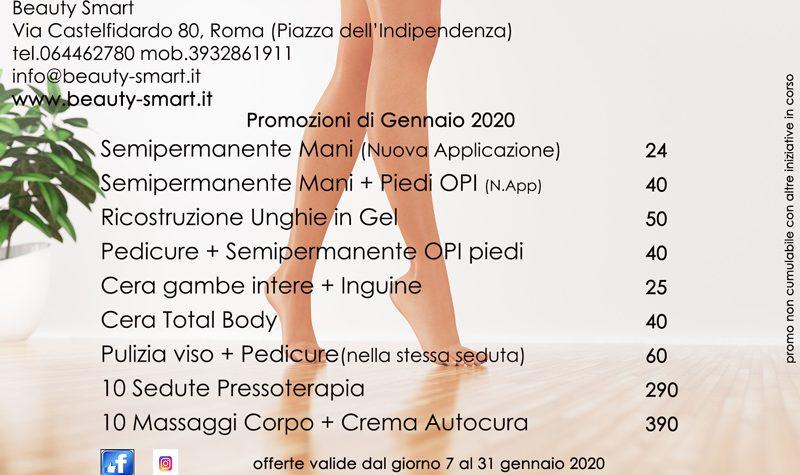 promozioni gennaio 2020 centro estetico roma