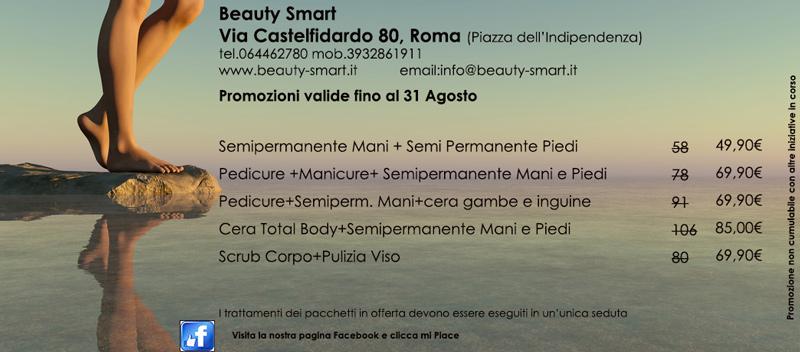 promozione agosto 2020 centro estetico roma