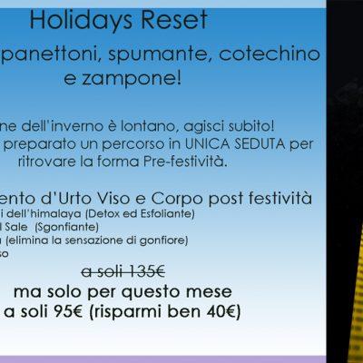 Holidays Reset